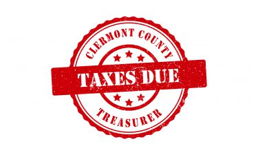 taxes due stamp graphic - links to tax due date page