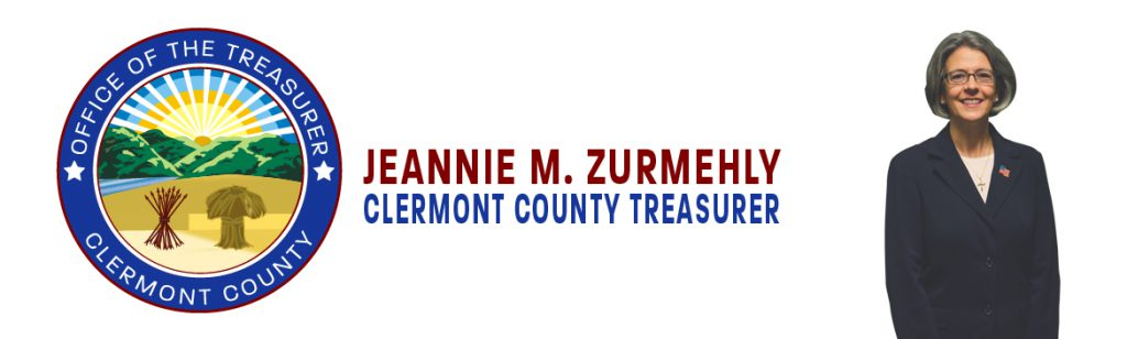 treasurer seal with logo and image of Jeannie Zurmehly
